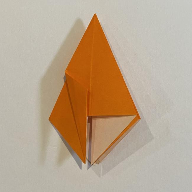カタツムリの折り紙 リアルで立体的な折り方作り方 (28)