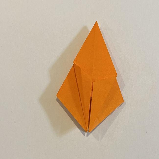 カタツムリの折り紙 リアルで立体的な折り方作り方 (29)