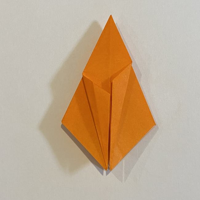 カタツムリの折り紙 リアルで立体的な折り方作り方 (30)
