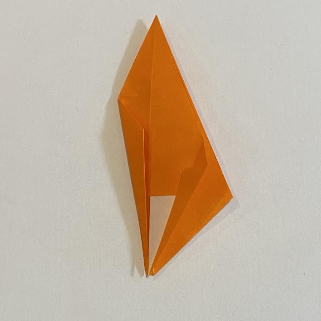 カタツムリの折り紙 リアルで立体的な折り方作り方 (35)