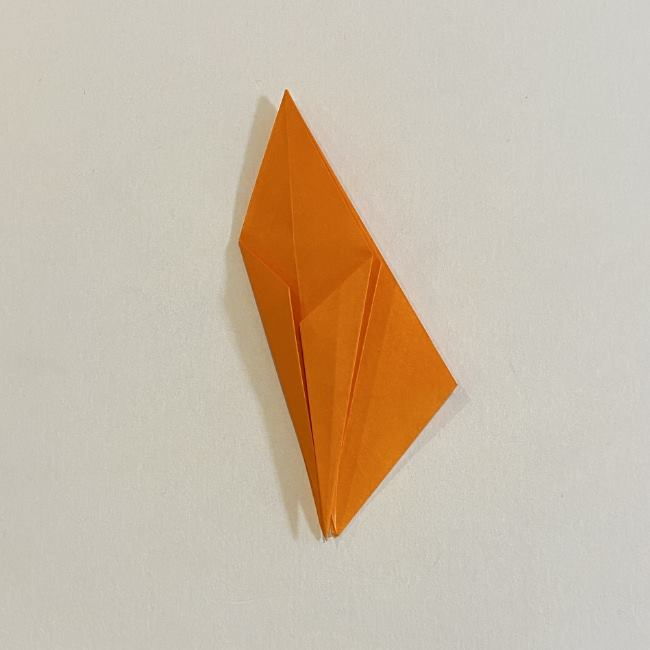 カタツムリの折り紙 リアルで立体的な折り方作り方 (36)