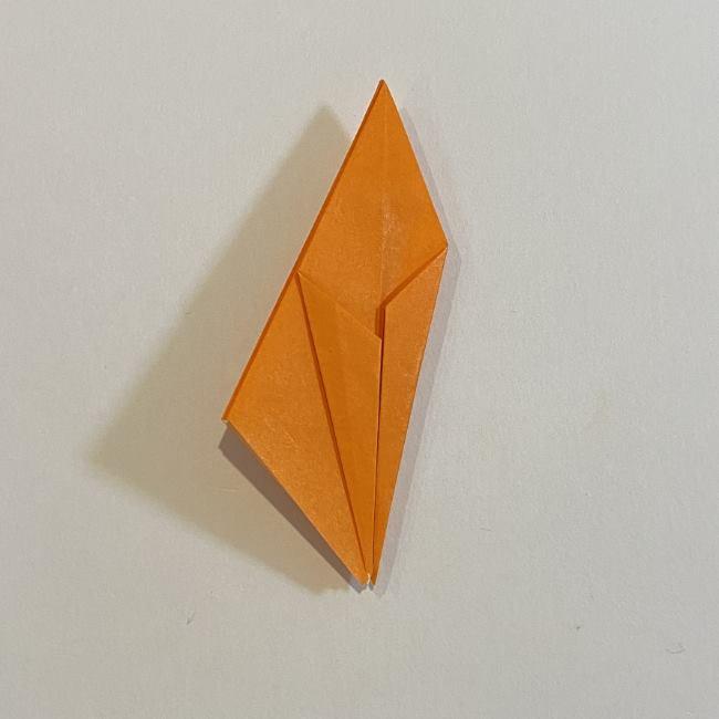 カタツムリの折り紙 リアルで立体的な折り方作り方 (37)