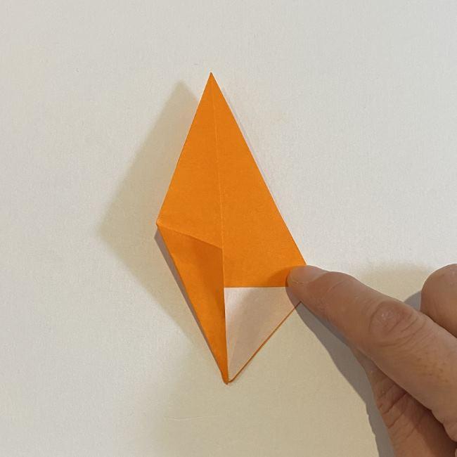 カタツムリの折り紙 リアルで立体的な折り方作り方 (39)