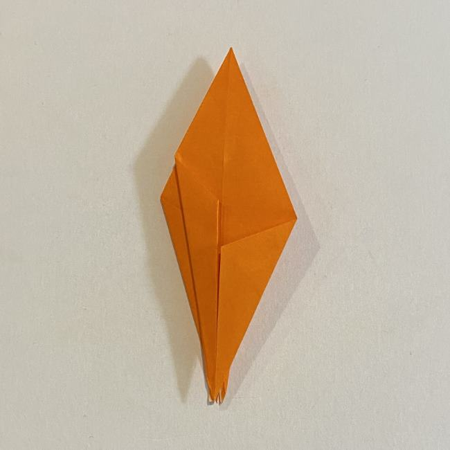 カタツムリの折り紙 リアルで立体的な折り方作り方 (41)