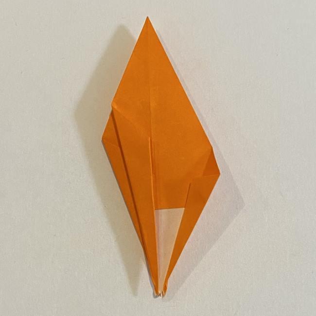 カタツムリの折り紙 リアルで立体的な折り方作り方 (42)