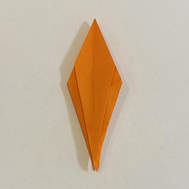 カタツムリの折り紙 リアルで立体的な折り方作り方 (44)