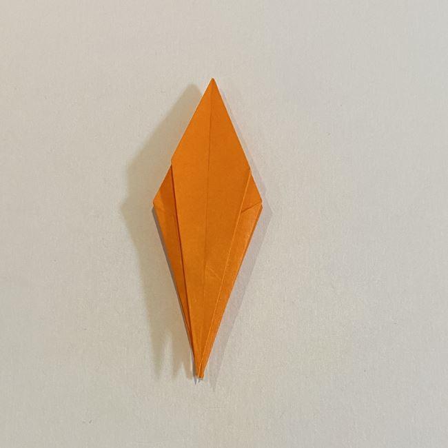 カタツムリの折り紙 リアルで立体的な折り方作り方 (46)