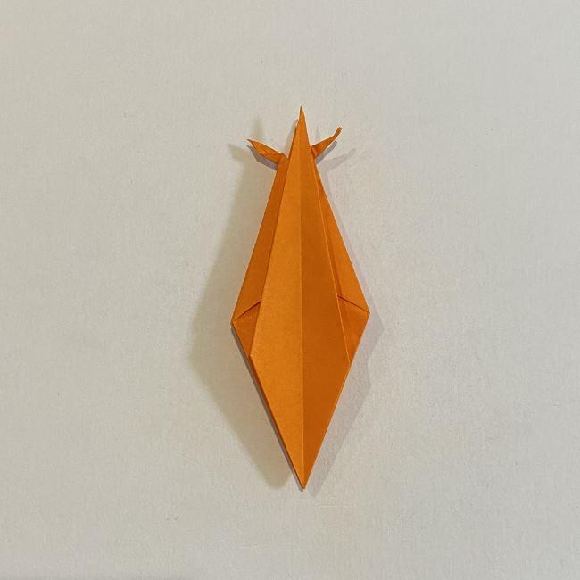 カタツムリの折り紙 リアルで立体的な折り方作り方 (47)