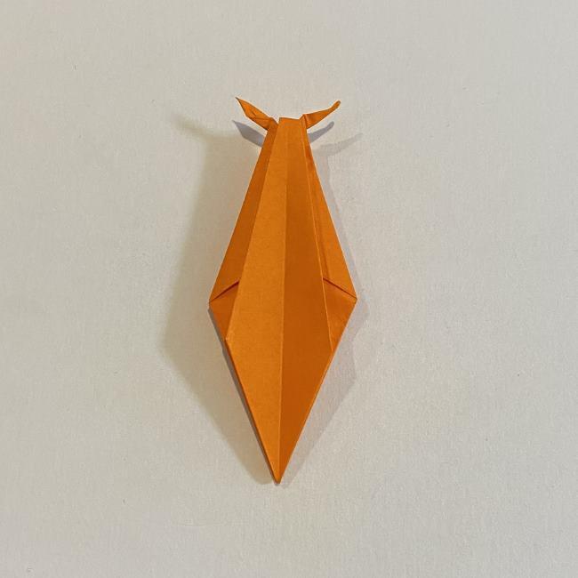 カタツムリの折り紙 リアルで立体的な折り方作り方 (48)