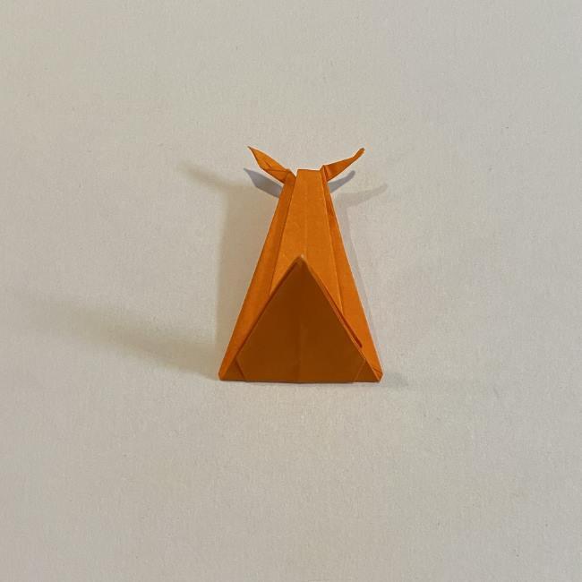 カタツムリの折り紙 リアルで立体的な折り方作り方 (49)