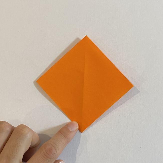 カタツムリの折り紙 リアルで立体的な折り方作り方 (7)