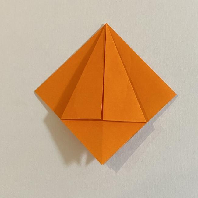 カタツムリの折り紙 リアルで立体的な折り方作り方 (8)