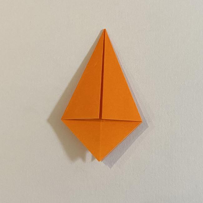 カタツムリの折り紙 リアルで立体的な折り方作り方 (9)
