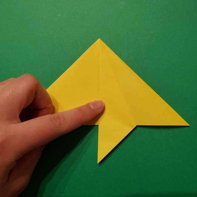 サルノリの折り紙の意外と簡単な作り方折り方(11)
