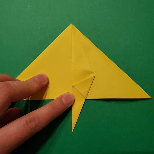 サルノリの折り紙の意外と簡単な作り方折り方(12)