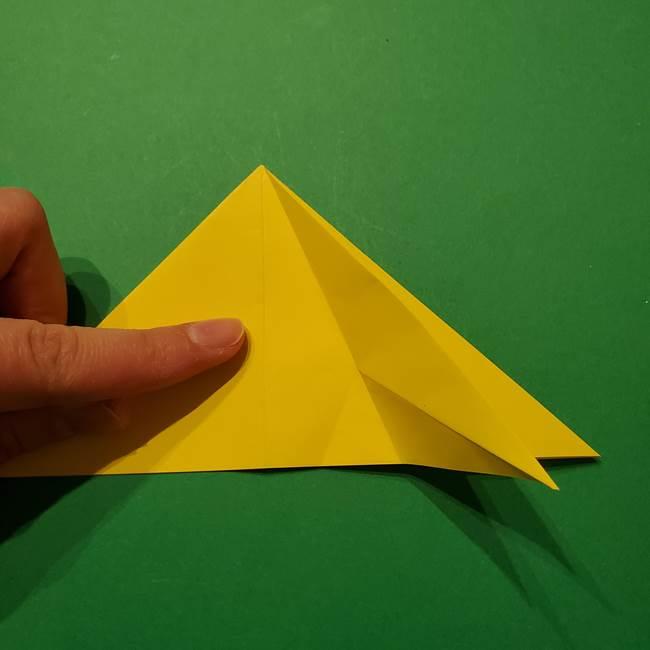 サルノリの折り紙の意外と簡単な作り方折り方(13)