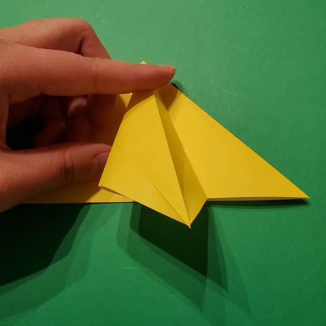 サルノリの折り紙の意外と簡単な作り方折り方(14)