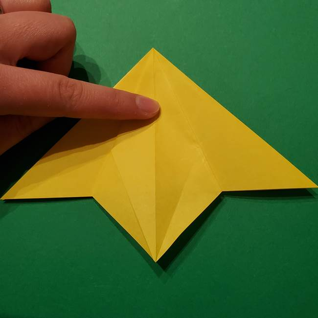サルノリの折り紙の意外と簡単な作り方折り方(15)