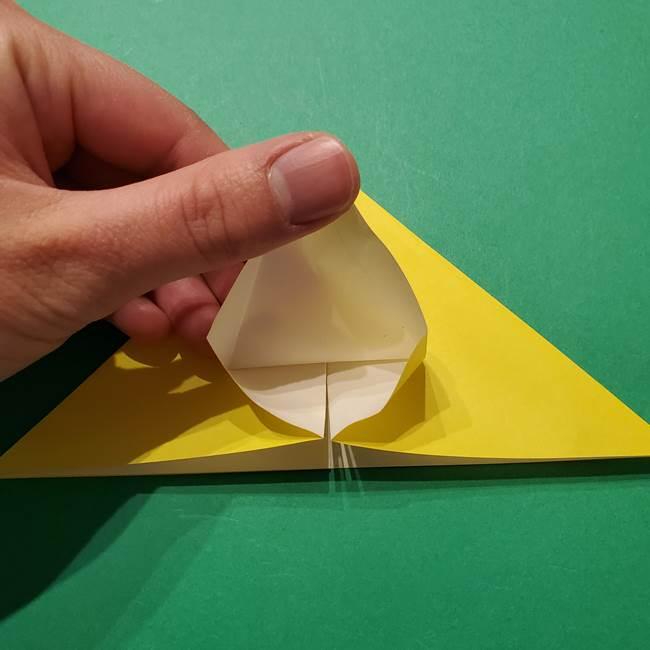 サルノリの折り紙の意外と簡単な作り方折り方(16)