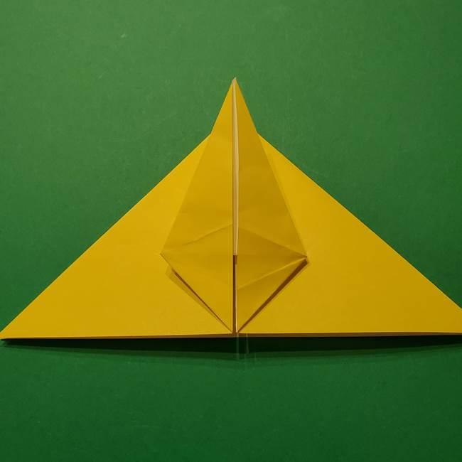 サルノリの折り紙の意外と簡単な作り方折り方(17)
