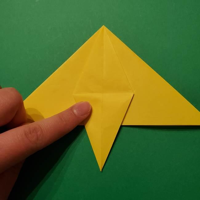 サルノリの折り紙の意外と簡単な作り方折り方(18)