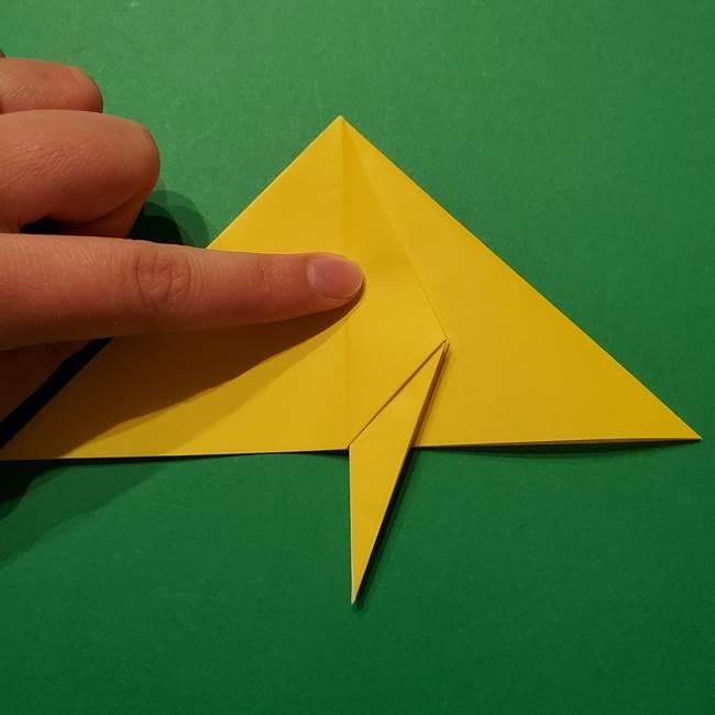 サルノリの折り紙の意外と簡単な作り方折り方(19)