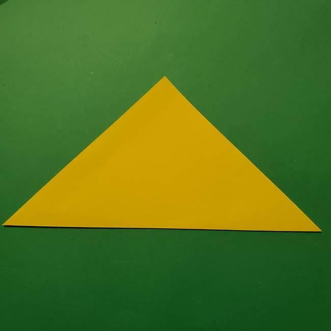 サルノリの折り紙の意外と簡単な作り方折り方(2)