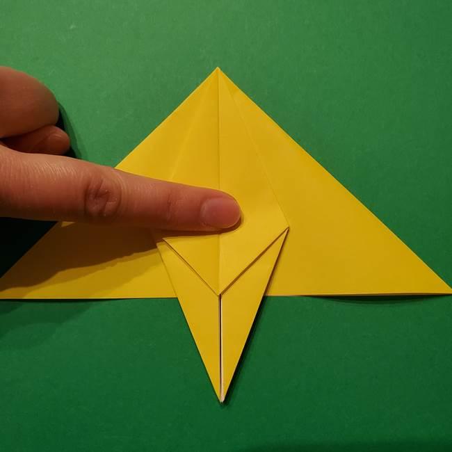 サルノリの折り紙の意外と簡単な作り方折り方(20)