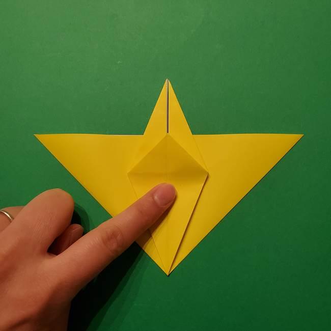サルノリの折り紙の意外と簡単な作り方折り方(21)