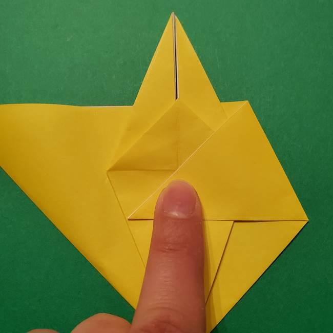 サルノリの折り紙の意外と簡単な作り方折り方(22)