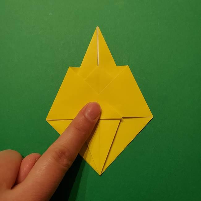 サルノリの折り紙の意外と簡単な作り方折り方(23)