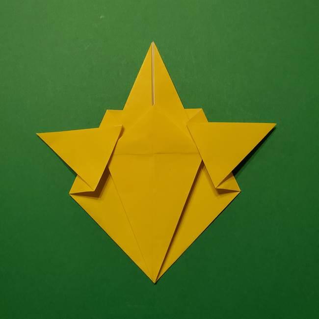 サルノリの折り紙の意外と簡単な作り方折り方(24)