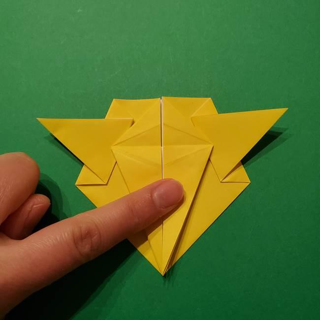 サルノリの折り紙の意外と簡単な作り方折り方(26)