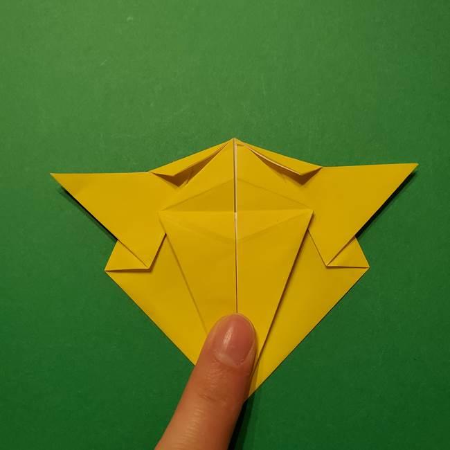 サルノリの折り紙の意外と簡単な作り方折り方(27)