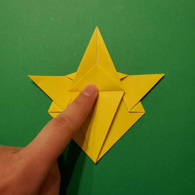 サルノリの折り紙の意外と簡単な作り方折り方(28)
