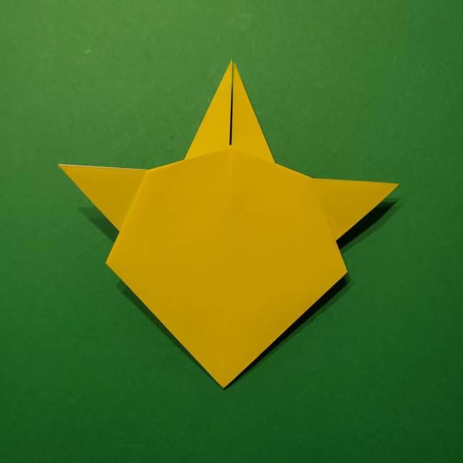 サルノリの折り紙の意外と簡単な作り方折り方(29)