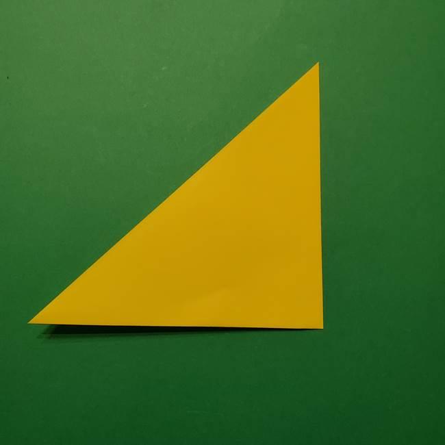 サルノリの折り紙の意外と簡単な作り方折り方(3)