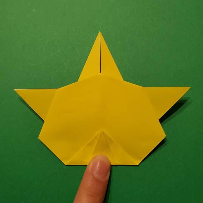 サルノリの折り紙の意外と簡単な作り方折り方(30)