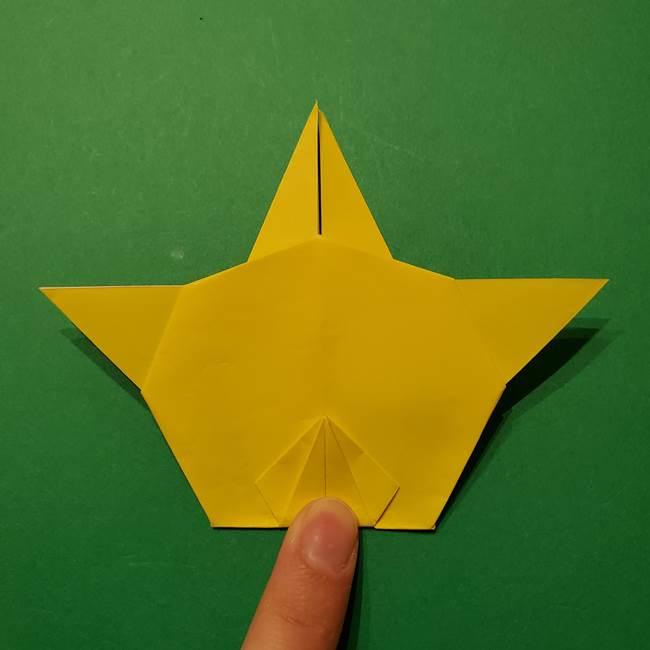 サルノリの折り紙の意外と簡単な作り方折り方(33)
