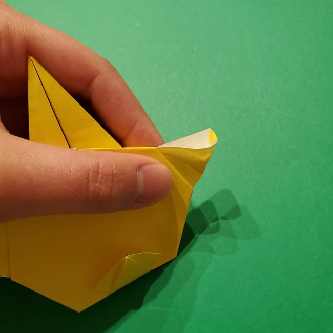 サルノリの折り紙の意外と簡単な作り方折り方(34)
