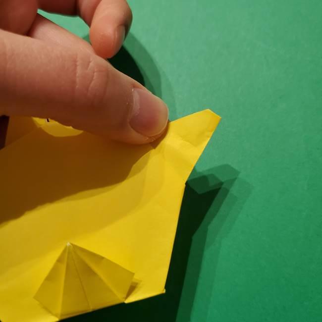 サルノリの折り紙の意外と簡単な作り方折り方(35)