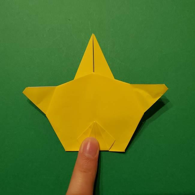 サルノリの折り紙の意外と簡単な作り方折り方(36)