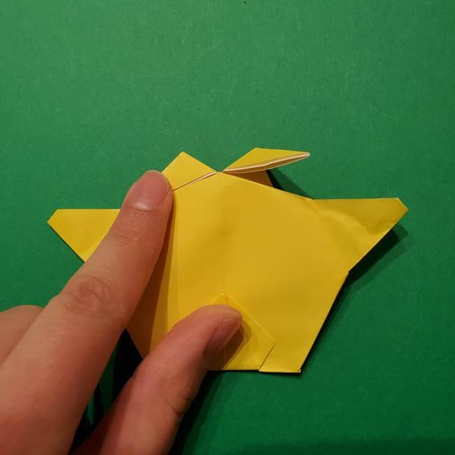 サルノリの折り紙の意外と簡単な作り方折り方(37)