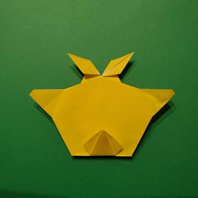 サルノリの折り紙の意外と簡単な作り方折り方(39)