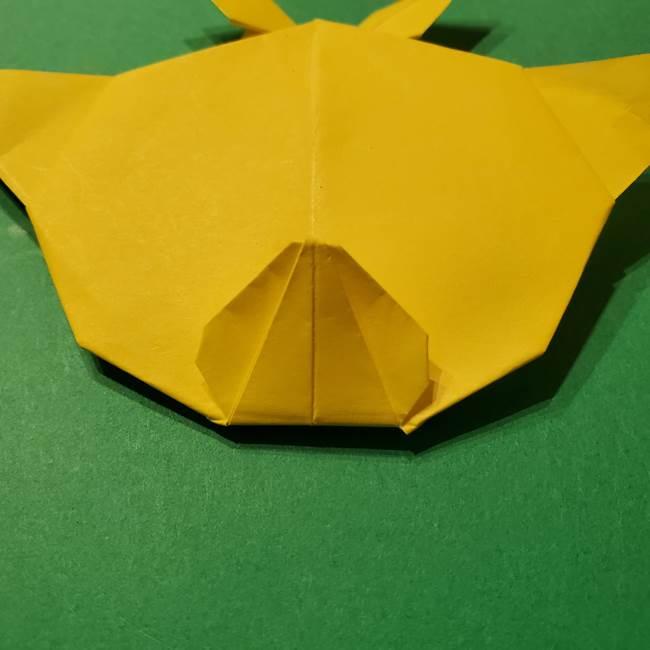 サルノリの折り紙の意外と簡単な作り方折り方(41)