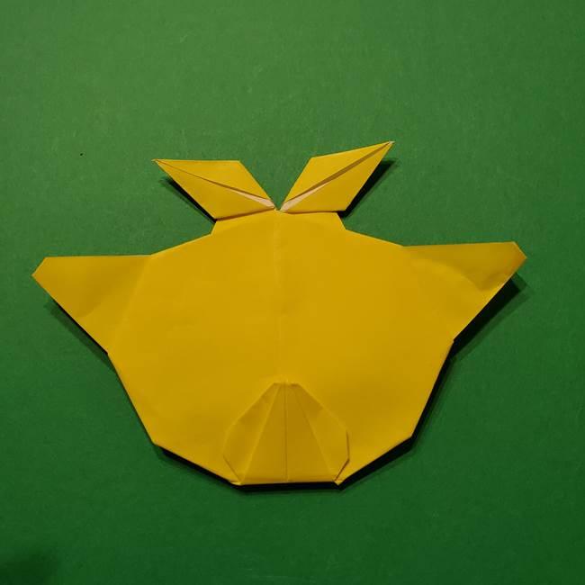 サルノリの折り紙の意外と簡単な作り方折り方(42)