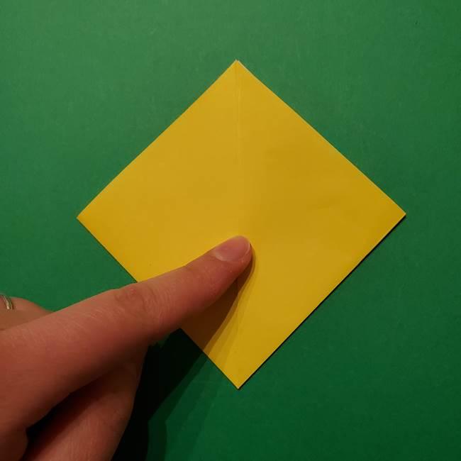 サルノリの折り紙の意外と簡単な作り方折り方(7)