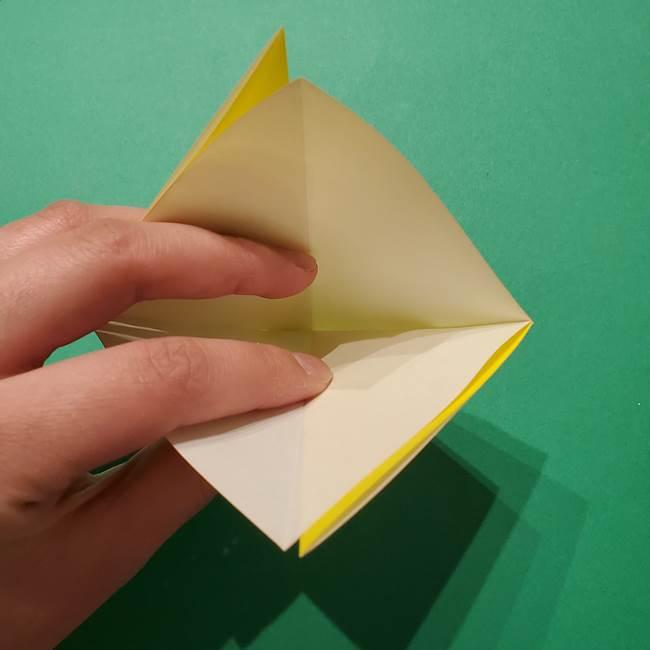サルノリの折り紙の意外と簡単な作り方折り方(8)