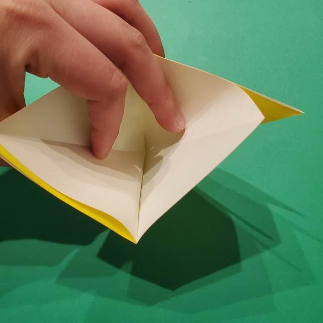 サルノリの折り紙の意外と簡単な作り方折り方(9)