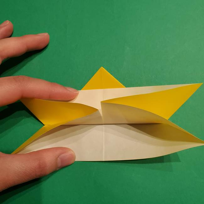 ゼラオラの折り紙*作り方折り方(16)
